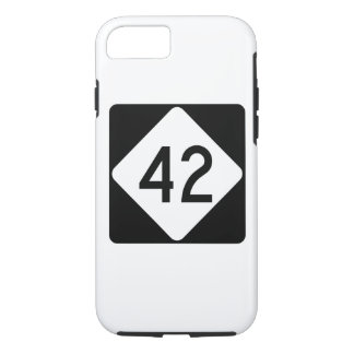 North Carolina Highway 42 iPhone 7 Case