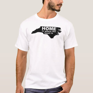 North Carolina Home Away From State T-Shirt Tees