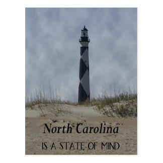 North Carolina Lighthouse Postcard