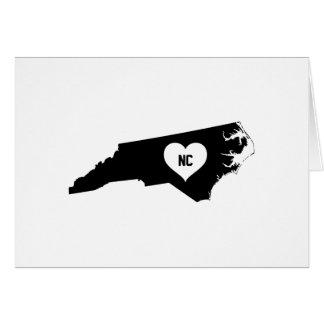 North Carolina Love Card