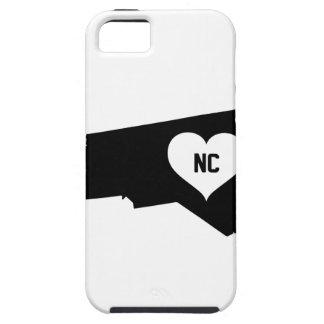 North Carolina Love iPhone 5 Cases