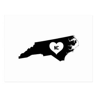 North Carolina Love Postcard