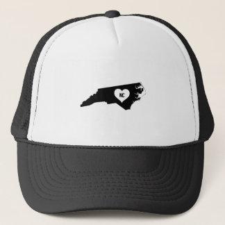 North Carolina Love Trucker Hat