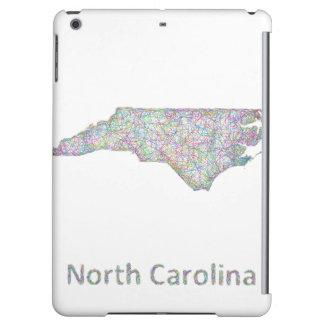 North Carolina map