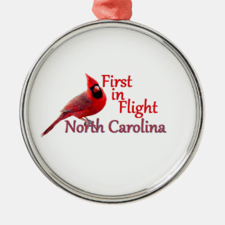 NORTH CAROLINA METAL ORNAMENT