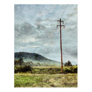 North Carolina Moonlight Postcard