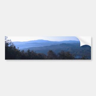 North Carolina Mountains Car Bumper Sticker