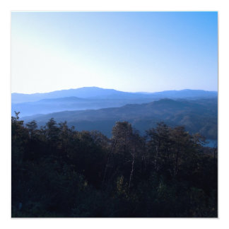 North Carolina Mountains Custom Invite