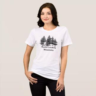 North Carolina Mountains Pine Trees T Shirt