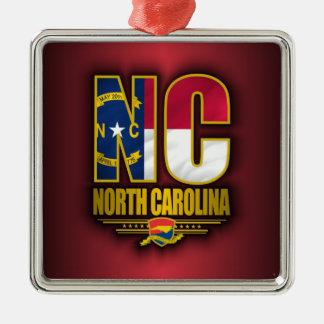 North Carolina (NC) Metal Ornament