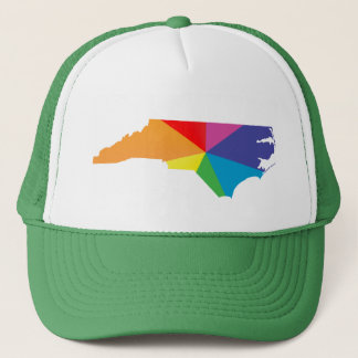 north carolina pride. trucker hat