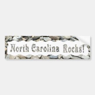 NORTH CAROLINA ROCKS-BUMPER STICKER BUMPER STICKER
