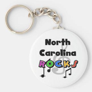 North Carolina Rocks Key Ring
