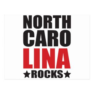 North Carolina Rocks! State Spirit Gifts and Appar Postcard