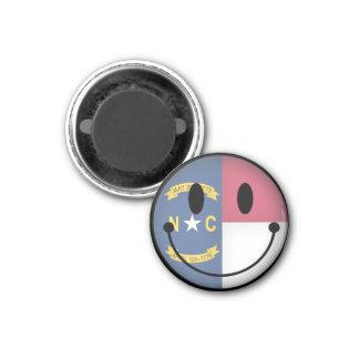 North Carolina Smiley Magnet