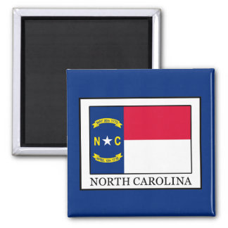 North Carolina Square Magnet