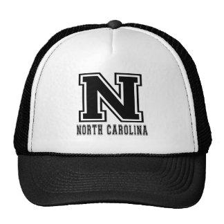North Carolina State Designs Mesh Hats