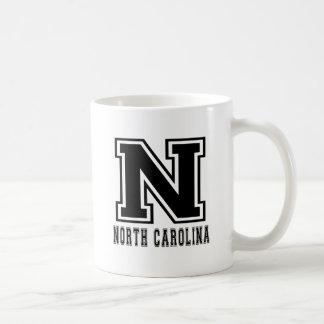 North Carolina State Designs Coffee Mugs