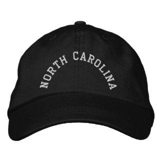 North Carolina State Embroidered Embroidered Baseball Cap