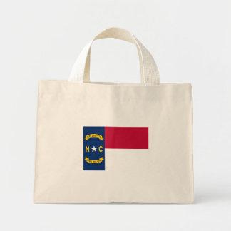North Carolina State Flag Canvas Bag