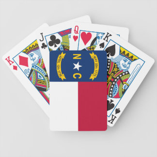 North Carolina State Flag Bicycle Playing Cards