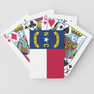 North Carolina State Flag Bicycle Playing Cards