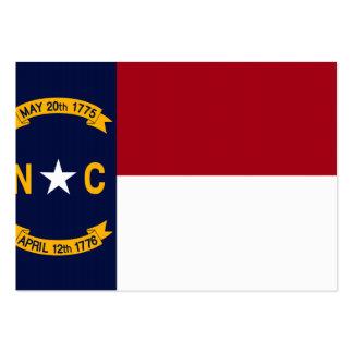 North Carolina State Flag Business Card Templates