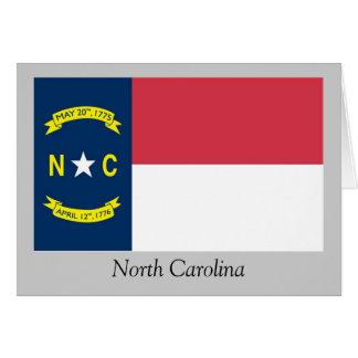 North Carolina State Flag Greeting Card