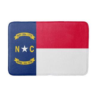 North Carolina State Flag Design Bath Mats