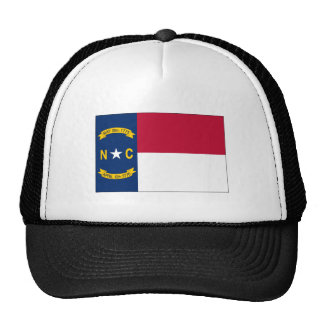 North Carolina State Flag Trucker Hat