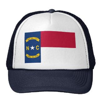 North Carolina State Flag Mesh Hats