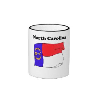North Carolina State Flag Mug