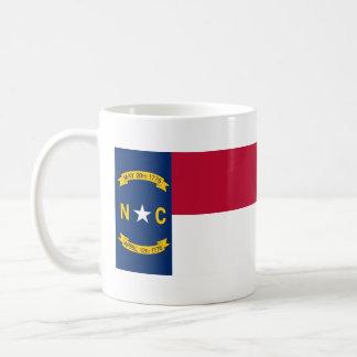 North Carolina State Flag Coffee Mugs