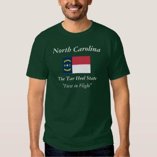 North Carolina State Flag T-shirts