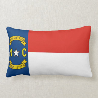 north carolina state flag united america pillow cushions