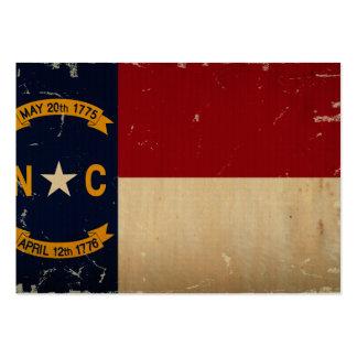 North Carolina State Flag VINTAGE. Business Card