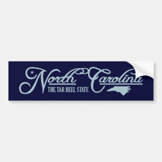 North Carolina (State of Mine) Bumper Sticker
