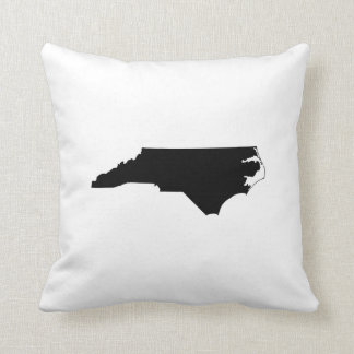 North Carolina State Outline Pillows