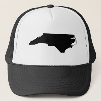 North Carolina State Outline Trucker Hat