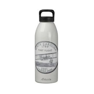 North Carolina State Quarter Drinking Bottle