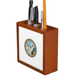 North Carolina State Seal Pencil/Pen Holder