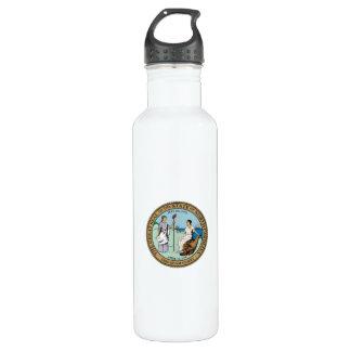 North Carolina State Seal 710 Ml Water Bottle