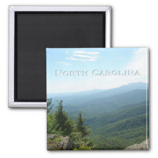 North Carolina State Travel Souvenir Fridge Magnet