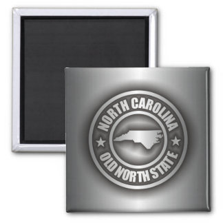 """North Carolina Steel"" Magnet"
