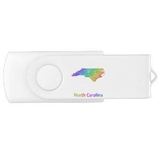 North Carolina Swivel USB 3.0 Flash Drive