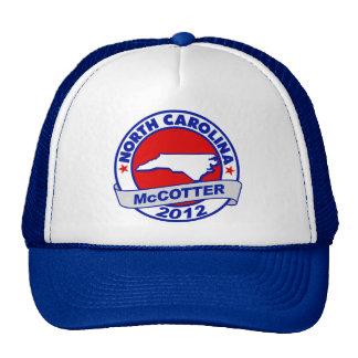 North Carolina Thad McCotter Trucker Hat
