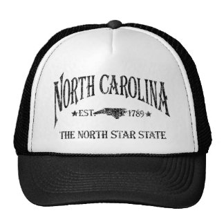 North Carolina - The North Star State Trucker Hats
