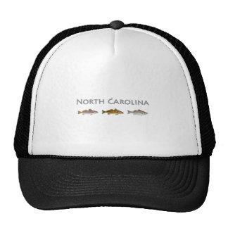 North Carolina USA (saltwater fish species) Trucker Hat
