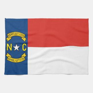 north carolina usa state flag towel