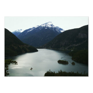 North Cascades 13 Cm X 18 Cm Invitation Card
